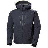 Helly Hansen Alpha Shell Jacket, herre, mørkeblå