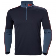 Helly Hansen Lifa Active 1/2 Zip, herre, graphite blue