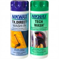 Nikwax Tech Wash + TX Direct Wash-In, 2x300ml