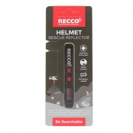 Recco Helmet Rescue, reflector, sort