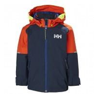 Helly Hansen K Shelter, regnjakke, børn, navy