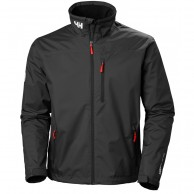 Helly Hansen Crew Midlayer Jacket, herre, sort