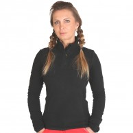 Outhorn Midela 1/4 zip fleecepulli, dame, sort