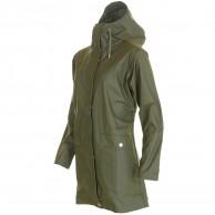 Helly Hansen Moss regnfrakke, dame, grøn