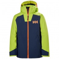 Helly Hansen Twister skijakke, junior, blå