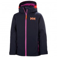 Helly Hansen Crystal skijakke, junior, mørkeblå