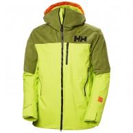 Helly Hansen Straightline Lifaloft skijakke, herre, grøn