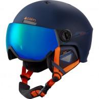 Cairn Eclipse Rescue, skihjelm med visir, mørkeblå