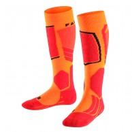 Falke SK2 skistrømper, børn, orange