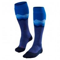 Falke SK2 Crest skistrømper, dame, blå