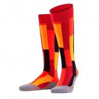 Falke SK4 Brick skistrømper, dame, rød