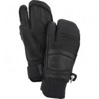 Hestra Leather Fall Line 3-finger skihandsker, sort