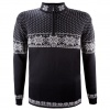 Kama Rune, merino sweater, herre, sort