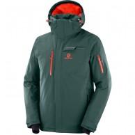 Salomon Brilliant JKT M, skijakke, herre, grøn