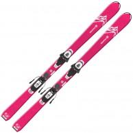 Salomon QST LUX Jr M + L6 GW, pink/hvid