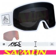 Salomon LO FI, skibriller, sort/hvid