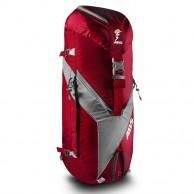 ABS Vario 45+5 Zip On, taske til lavinerygsæk, rød/grå