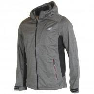 4F Brady, softshell jakke, herre, grå