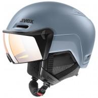 Uvex hlmt 700, skihjelm med visir, blå