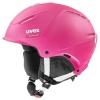 Uvex p1us 2.0 skihjelm, pink