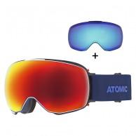 Atomic Revent Q Stereo, skibriller, blå