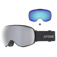 Atomic Revent Q Stereo, skibriller, sort
