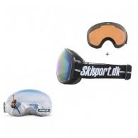 Demon Magnet, skibriller og Gogglesoc, Skisport.dk Edition