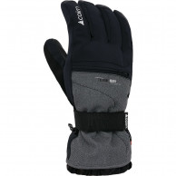 Cairn Dana 2 M C-TEX skihandsker, sort/grå