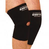 A-serve knævarmestøttebind, neopren, åben knæ
