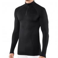 Falke Long Sleeved Shirt Maximum Warm, herre, sort