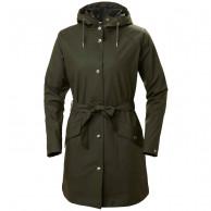 Helly Hansen Kirkwall II regnfrakke, dame, mørkegrøn