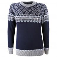 Kama Frida Merino Sweater, dame, blå