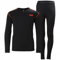 Helly Hansen Lifa Active sæt, junior, sort