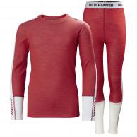 Helly Hansen Lifa Merino Midweight, sæt, junior, rød
