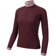Ulvang 50Fifty 2.0 turtle neck, dame, bordeaux