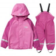 Helly Hansen Bergen PU, regnsæt,  børn, pink