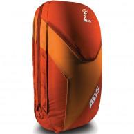 ABS Vario 18 Zip On, taske til lavinerygsæk, rød/orange