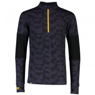 Mons Royale Alta Tech Half Zip, herre, iron camo