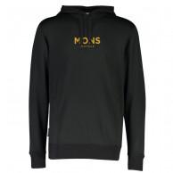 Mons Royale Decade Logo Hoody, herre, sort