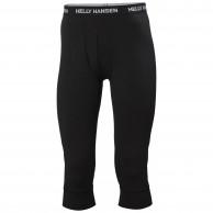 Helly Hansen Lifa Merino Midweight 3/4 Pant, herre, sort