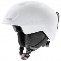 Uvex Heyya Pro, skihjelm, junior, hvid/sort