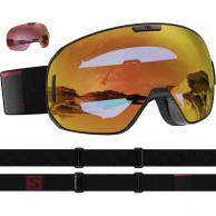 Salomon S/MAX Sigma, skibriller, sort/rød