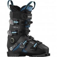 Salomon S/Pro 100 W, skistøvler, dame, sort/blå