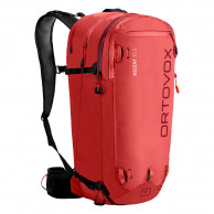 Ortovox Ascent 30 S, rød