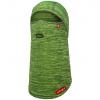 Airhole Balaclava Full Hinge Waffleknit, tech green
