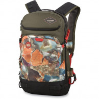 Dakine Mens Team Heli Pro 20L, sort