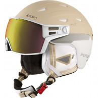 Cairn Shuffle S-Visor Evolight NXT, skihjelm med visir, beige