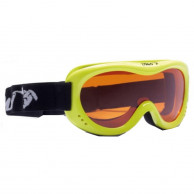 Demon Snow 6 junior skigoggle, yellow fluo