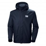 Helly Hansen Seven J, regnjakke, herre, mørkeblå