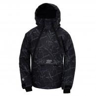 2117 of Sweden Lillhem, skijakke, junior, sort camo
